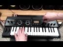 Синтезатор Korg Microkorg XL - видео обзор