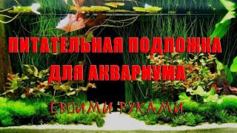 Изготовление удобрений для аквариума