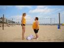 CRAZIEST BEACH VOLLEYBALL GAME EVER! (Kerri Walsh) ScottDW