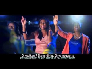 Nathaniel Bassey ft Enitan Adaba - Imela [LYRICS VIDEO]