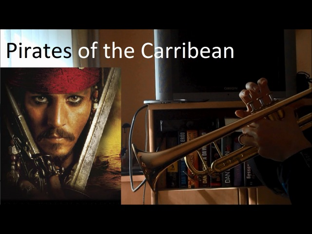 Pirates of the Caribbean (trumpet medley, high-pitched)