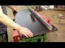 Самодельный деревообрабатывающий станок eigenbau Hobelbank Kreissage self made woodworking machine