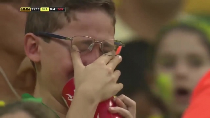 FIFA World Cup 2014 Semi final Brazil 1 7 Germany Highlights BBC
