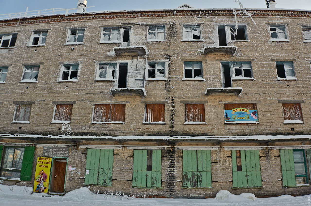 Нежилой дом в Юбилейном