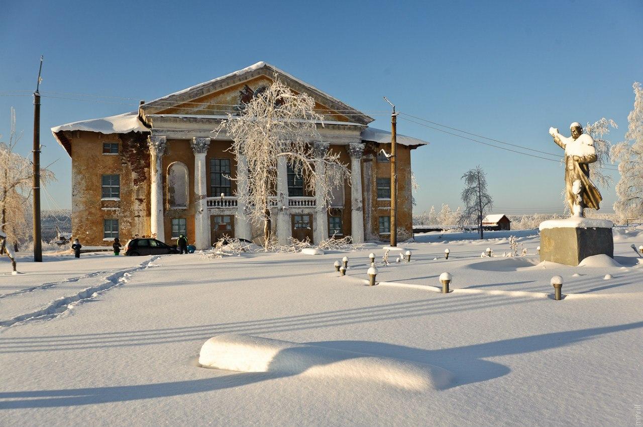 Дворец культуры в Шумихинском