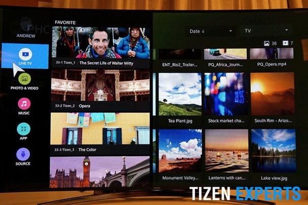 Samsung будут использовать Tizen на всех своих TV начиная с 2015 года