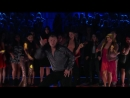 Nick Carter & Sharna Burgess dance the Samba
