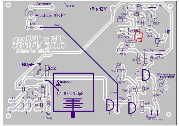 микросхемы и на схеме и на