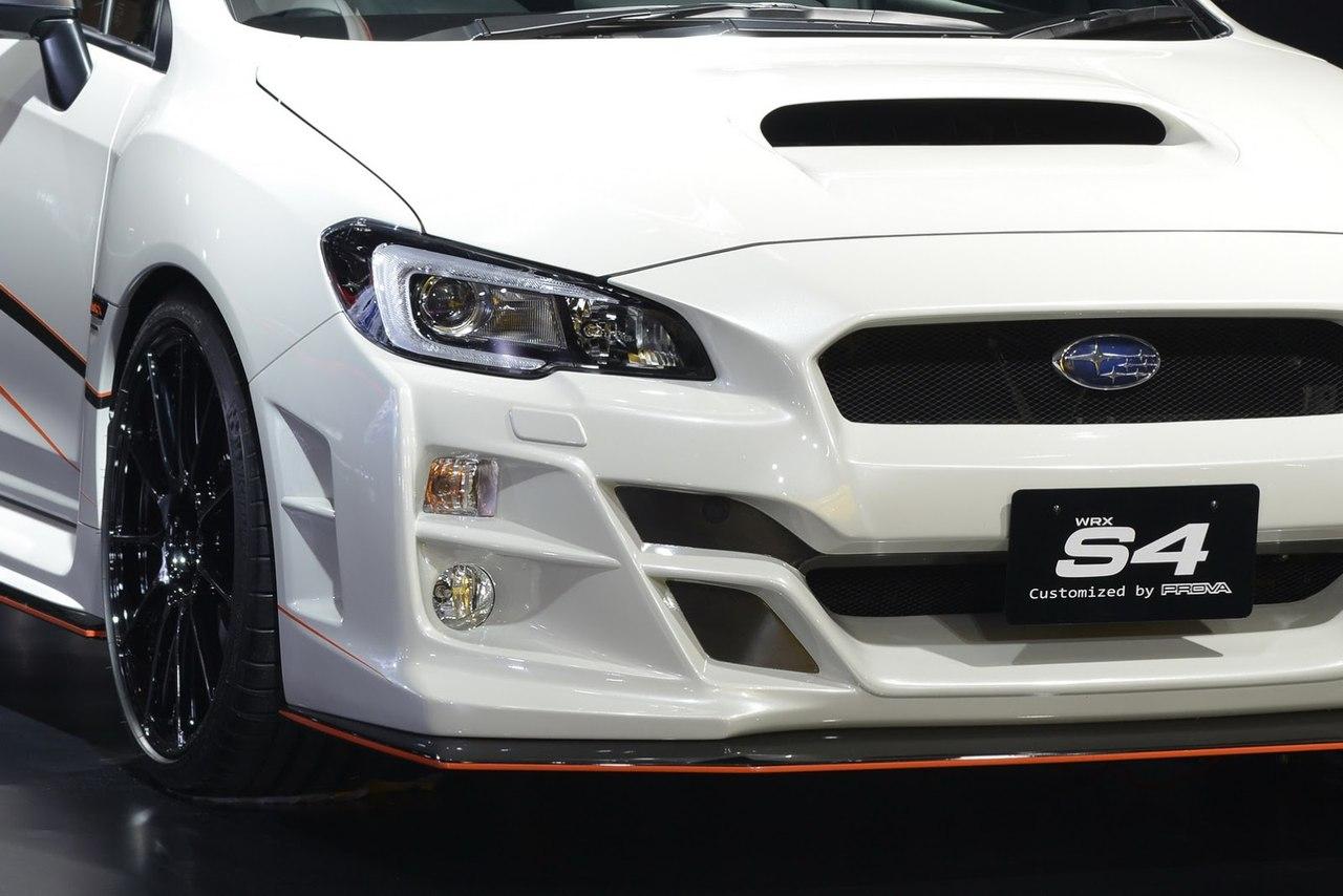 Prova дарит Subaru WRX S4 новые очертания