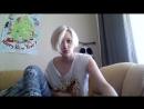 девушка прекрасно поет, ню, тамблер, блондинка, шикарный голос, лучшее видео