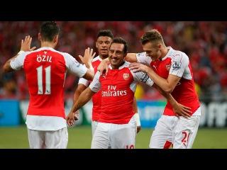 Арсенал 2:1 Эвертон | Английская Премьер-Лига 2015/16 | 10-й тур | Обзор матча [HD] 24.10.15