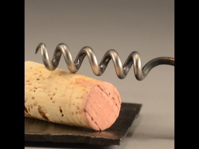 How to Forge a Corkscrew Worm.