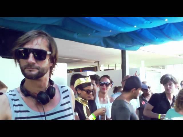 Ricardo Villalobos Kalabrese ready made @ Streetparade 2011 - Badi Enge Zürich