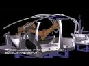 Die technische Unterwäsche des Elektroauto EDAG Light Car 2010