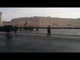 Подготовка к параду Санкт-Петербург 2015