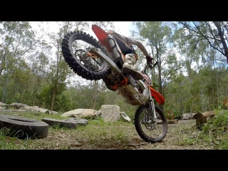 CROSS TRAINING IN SLOW MOTION - enduro & endurocross skills