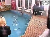 Драки и Скандалы Дом 2 - Пьяная Элина Карякина искупалась в бассейне