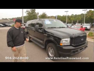 Autoline's 2004 Ford Excursion Limited Walk Around Review Test Drive