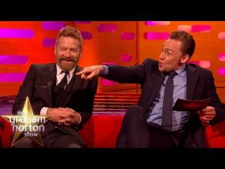 Tom Hiddleston Impersonates Graham and It's Amazing - The Graham Norton Show