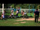 U News. Военно-спортивный лагерь