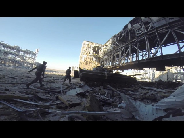 Battle of Donetsk Airport - Intense Combat Footage and Heavy Clashes | War in Ukraine