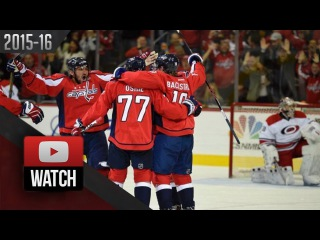 Carolina Hurricanes Vs Washington Capitals. October 17th, 2015. (HD)