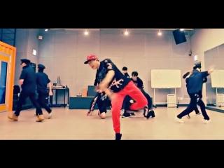 MONSTA X Trespass mirrored Dance Practice