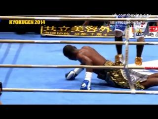 Guillermo Rigondeaux Hisashi Amagasa knockdowns Ригондо - Амагаши нокдауны
