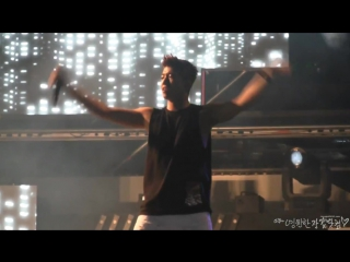 [FANCAM] 150904 Lotte Duty Free Family Concert Wooyoung #우영 - GO CRAZY & CLOSING