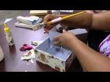 Декупаж с тканью. Прикольные детские коробочки шикарные шкатулки. Приятного просмотра!https://www.youtube.com/watch?v=ZlAC1d