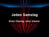 Wise Guys - Jeden Samstag (with lyrics)