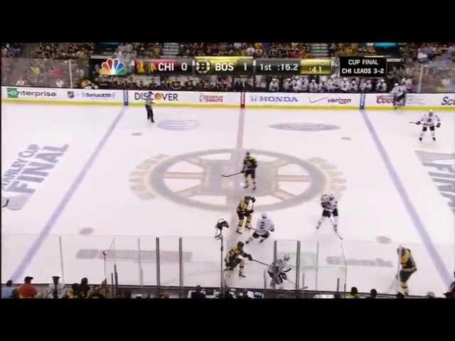 2013 NHL Playoffs - Chicago Blackhawks Vs. Boston Bruins Game 6 Highlights