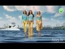 Мировые топ-модели прошлись по воде для Нового канала - Супермодель по-украински...