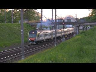Дизель-поезд ДР1Б Вильнюс - Минск / DMU DR1B Vilnius - Minsk train