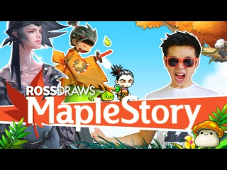 RossDraws: MAPLESTORY!!
