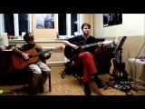 Песенка друзей на гитаре (Бременские музыканты)