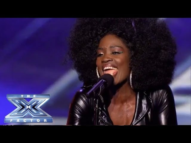 Lillie McCloud - Crowd-Surprising Cover of CeCe Winans' Alabaster Box - THE X FACTOR USA 2013