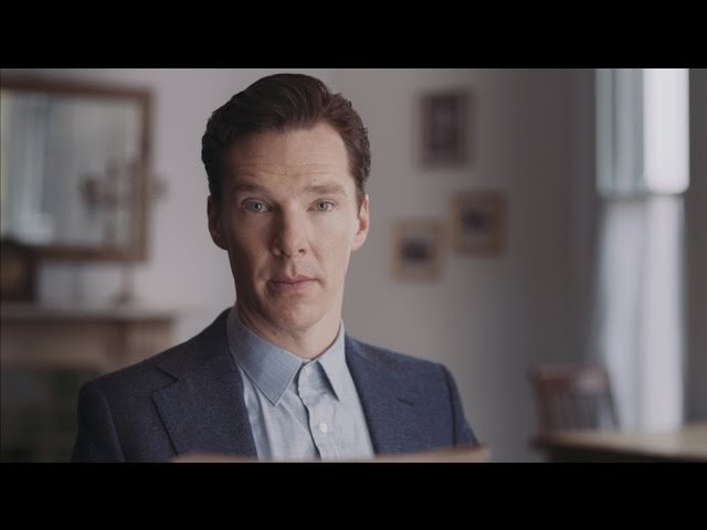 """My dearest one Benedict Cumberbatch reads Chris Barker's letter to Bessie Moore"