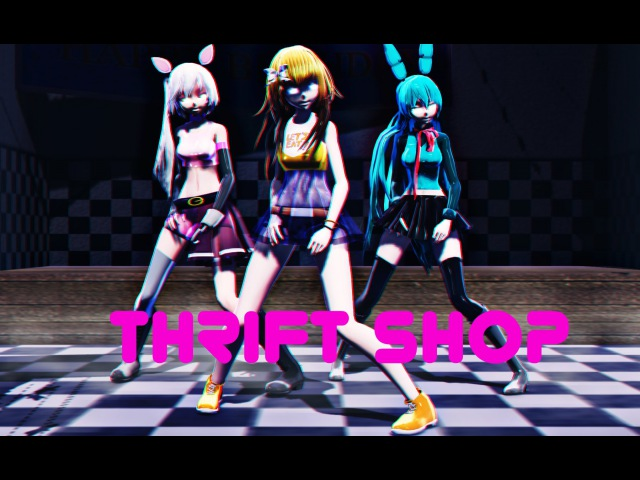 [MMD] FNAF - Thrift Shop