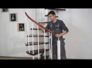 Монтаж винтовой лестницы ПРАГМАТИК