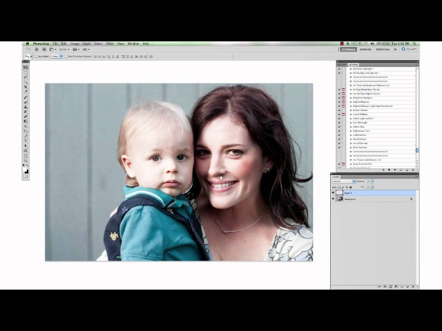 о9Brightening Shadows and Softening Harsh Lines from Sun in Photoshop by Paint the Moon\\ощш