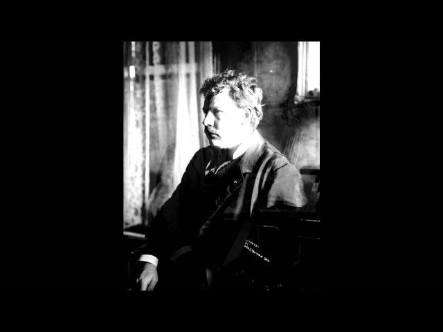 Leo Slezak sings 'Magische Töne, berauschender Duft!' from Karl Goldmark's 'Die Königin von Saba'