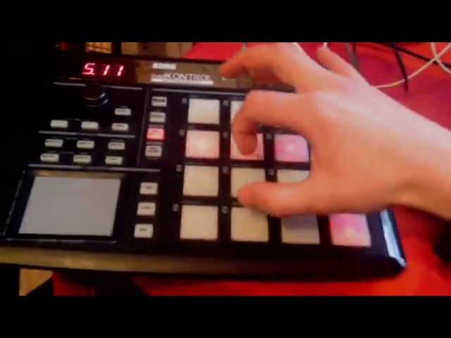 Bombey (SkyRec) production on Korg pad Kontroll - One-Armed Jho ( Lite DubStep ver.)