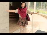 Японский универ Канда. Милая студентка проводит экскурсию.