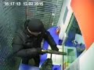 Ограбление банка в Иркутске, видео с камер (bank robbery)