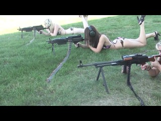Naked girls and guns