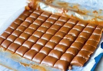 Ириски с шоколадной крошкой