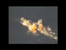 Обстрел корабля-мишени противокорабельными ракетам.