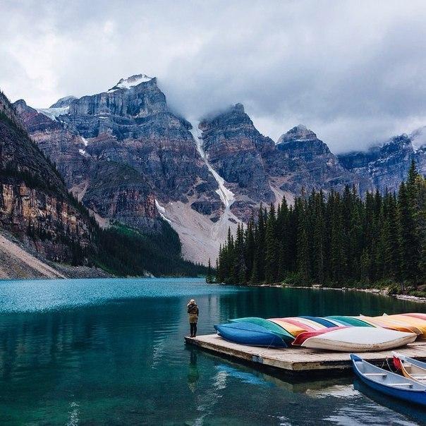 Горные пейзажи Канады