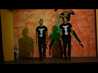 Cabaret show in Riadh club (Achraf and Titou)